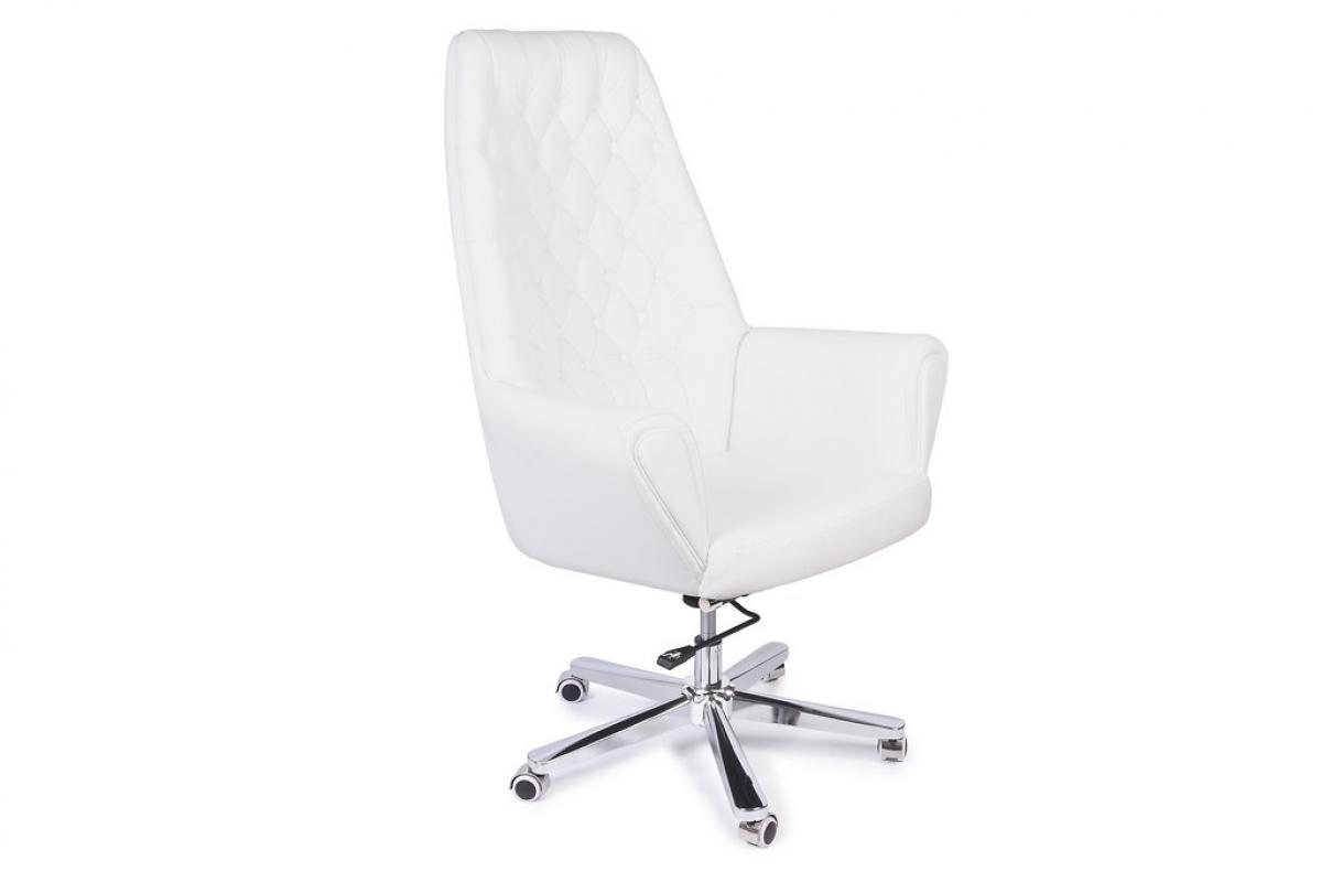 Poltrona Ufficio Bianco : Poltrona sedia direzionale presidenziale in pelle per ufficio studio