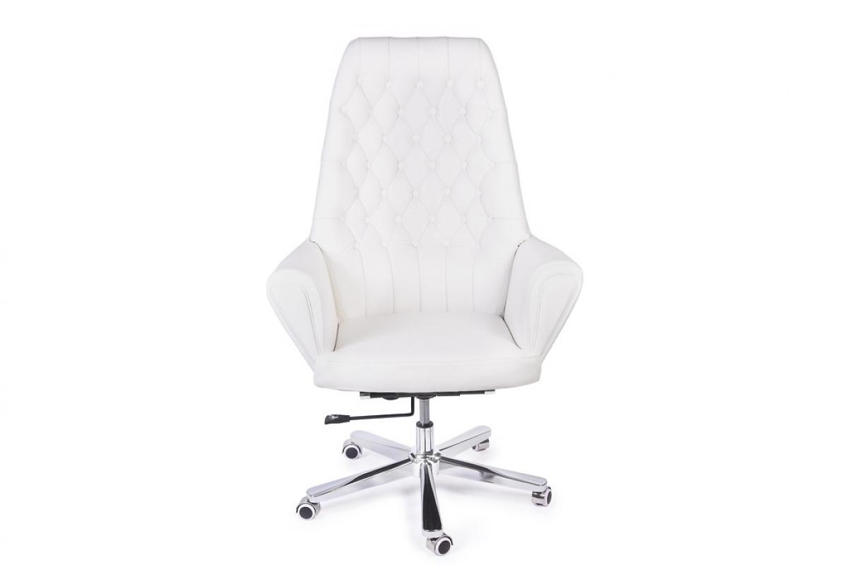 Ufficio Direzionale Bianco : Poltrona da ufficio direzionale in pelle colore bianco vintage retrò
