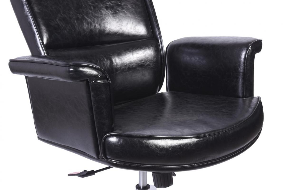 Poltrona sedia direzionale da ufficio o studio in pelle for Poltrona studio