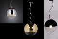 Lampadario a sospensione Tom Dixon Mirror Ball Nero