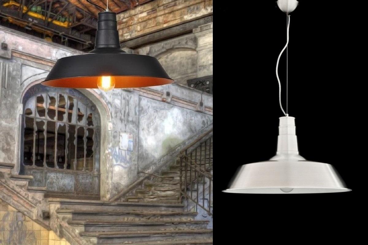 Plafoniere Stile Industriale : Lampade a sospensione tipo industriale cucina in stile