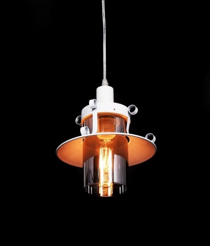 Lampada Sospensione Vetro Metallo Alien : Lampada design a sospensione capri in metallo e vetro