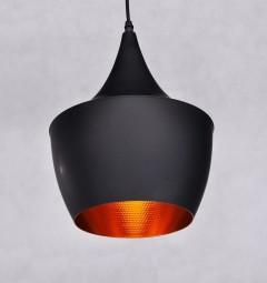 Lampadario a sospensione stile industriale Foggi 12B Nero