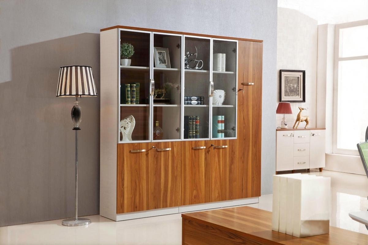 Armadio libreria moderno 2 ante per ufficio studio o open for Armadietti ufficio
