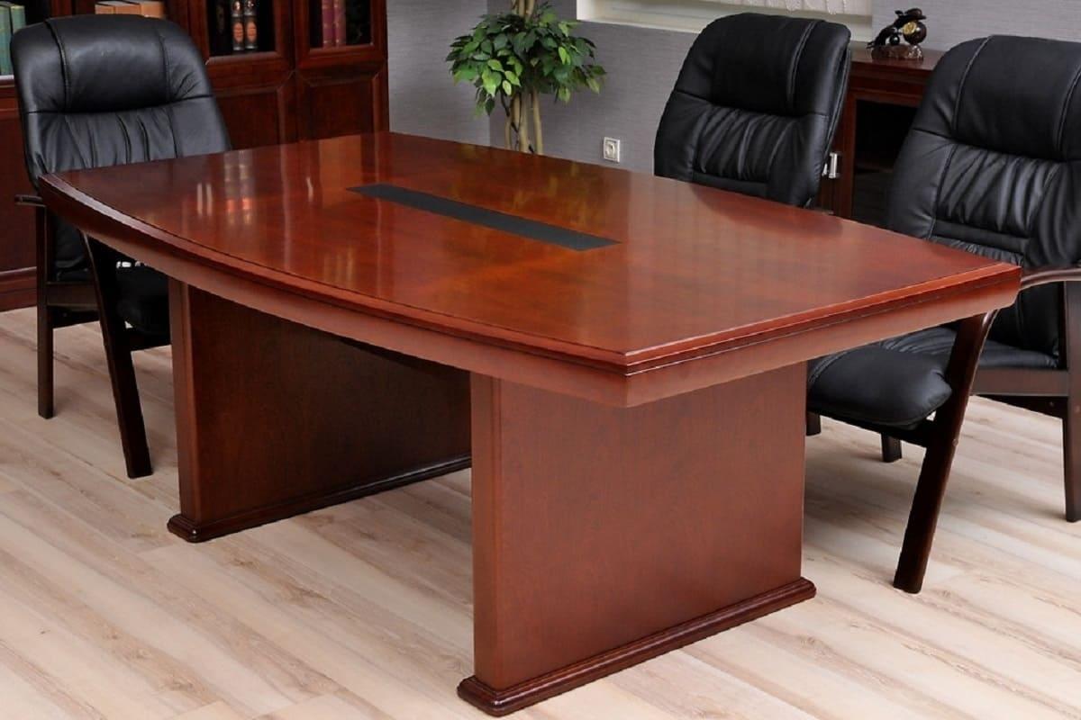 Tavolo conferenza e riunione stile classico per ufficio for Tavolo da studio