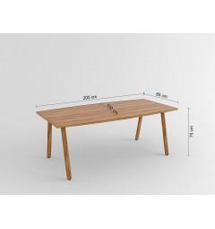 Tavolo moderna da conferenza Evolutio E102 da 200 cm