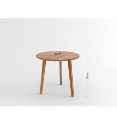 Tavolo rotondo da conferenza Evolutio F02 da 80 cm