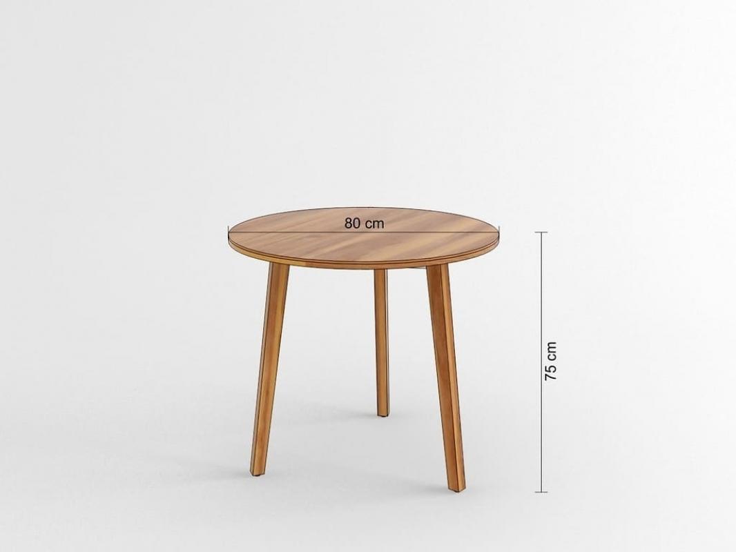 Tavolo rotondo per riunione e conferenza da ufficio o for Tavolo rotondo 70 cm