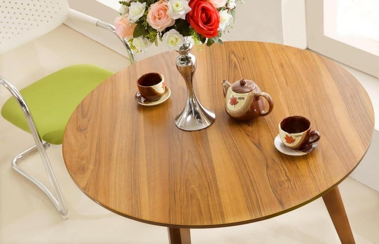 Tavolo moderno rotondo a 100 cm da ufficio studio per for Tavolo da studio