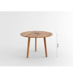 Tavolo rotondo da conferenza Evolutio F02 da 100 cm