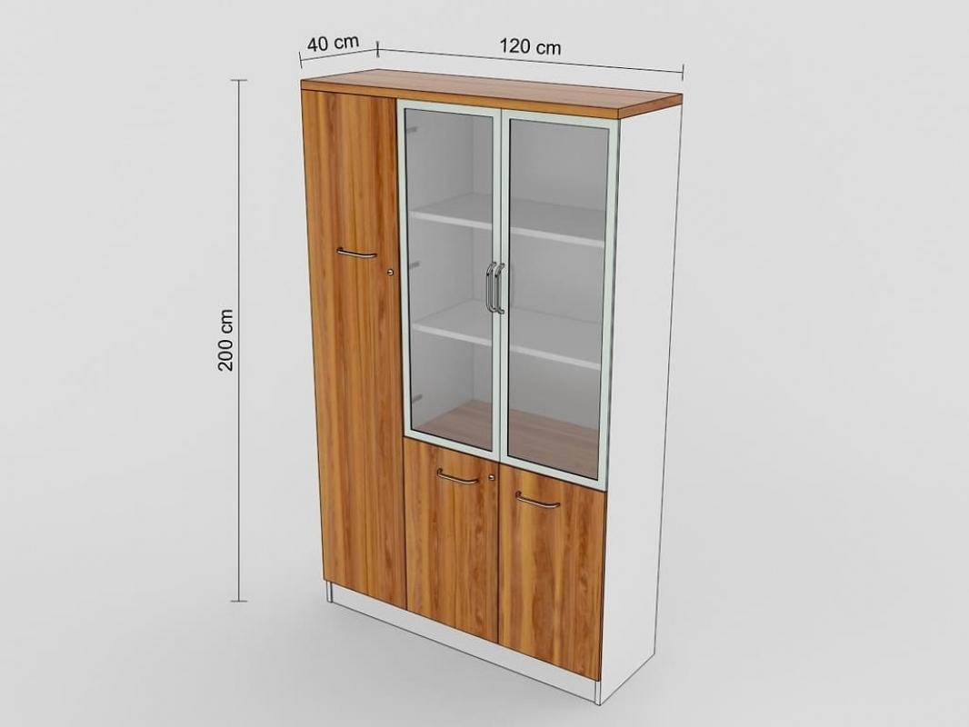 Armadio libreria moderno 3 ante da ufficio studio o open for Armadi x ufficio