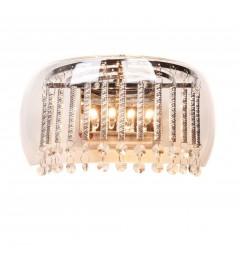 Ideal Lux AUDI Applique lampada da parete Gusto Trasparente