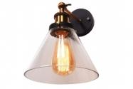 Applique lampada da parete in vetro Nubi