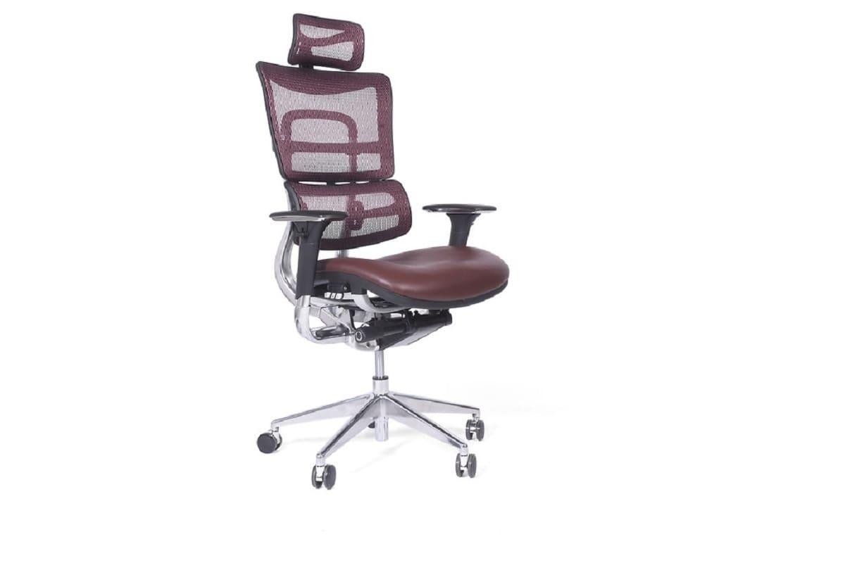 Poltrona ergonomica e economica da ufficio o studio sedile in pelle