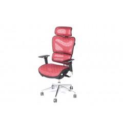 Poltrona ergonomica da ufficio 702 Rosso