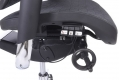 Poltrona ergonomica da ufficio 702 Nero