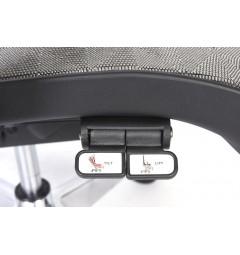 Poltrona ergonomica da ufficio 726B Grafite