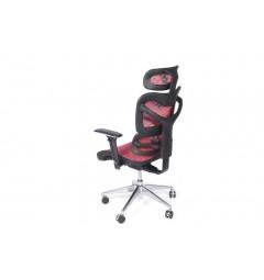 Poltrona ergonomica da ufficio 726B Rosso
