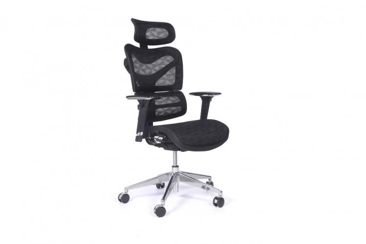 Poltrona ergonomica da ufficio 726B Nero