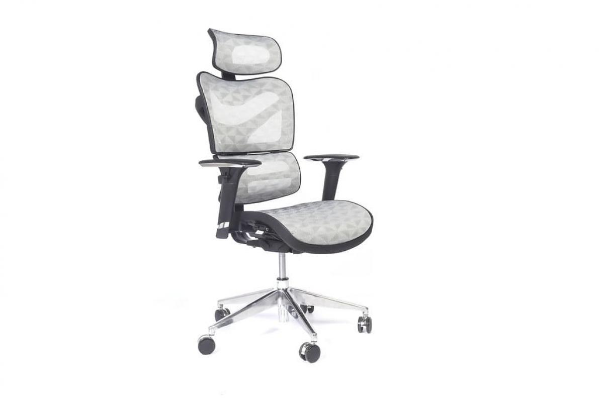 Poltrona sedia ergonomica da ufficio direzionale in rete traspirante 726B Grigio  eBay