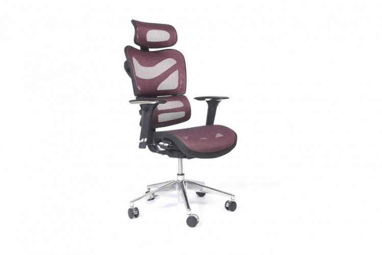 Poltrona ergonomica da ufficio 726B Prugna