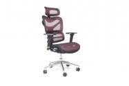 Poltrona ergonomica da ufficio Ergo 600 Prugna