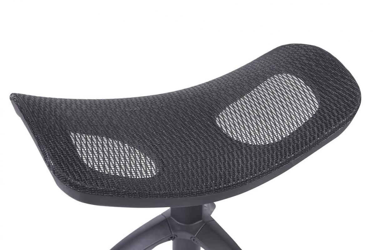 Poggiapiedi ergonomica in rete traspirante da poltrona o for Poltrona ufficio con poggiapiedi