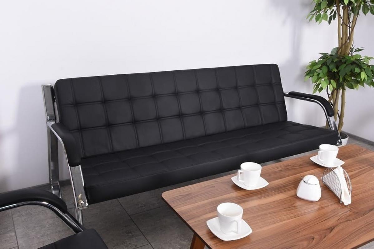 Divano sof a 3 posti design moderno ufficio studio casa for Divano pelle 3 posti