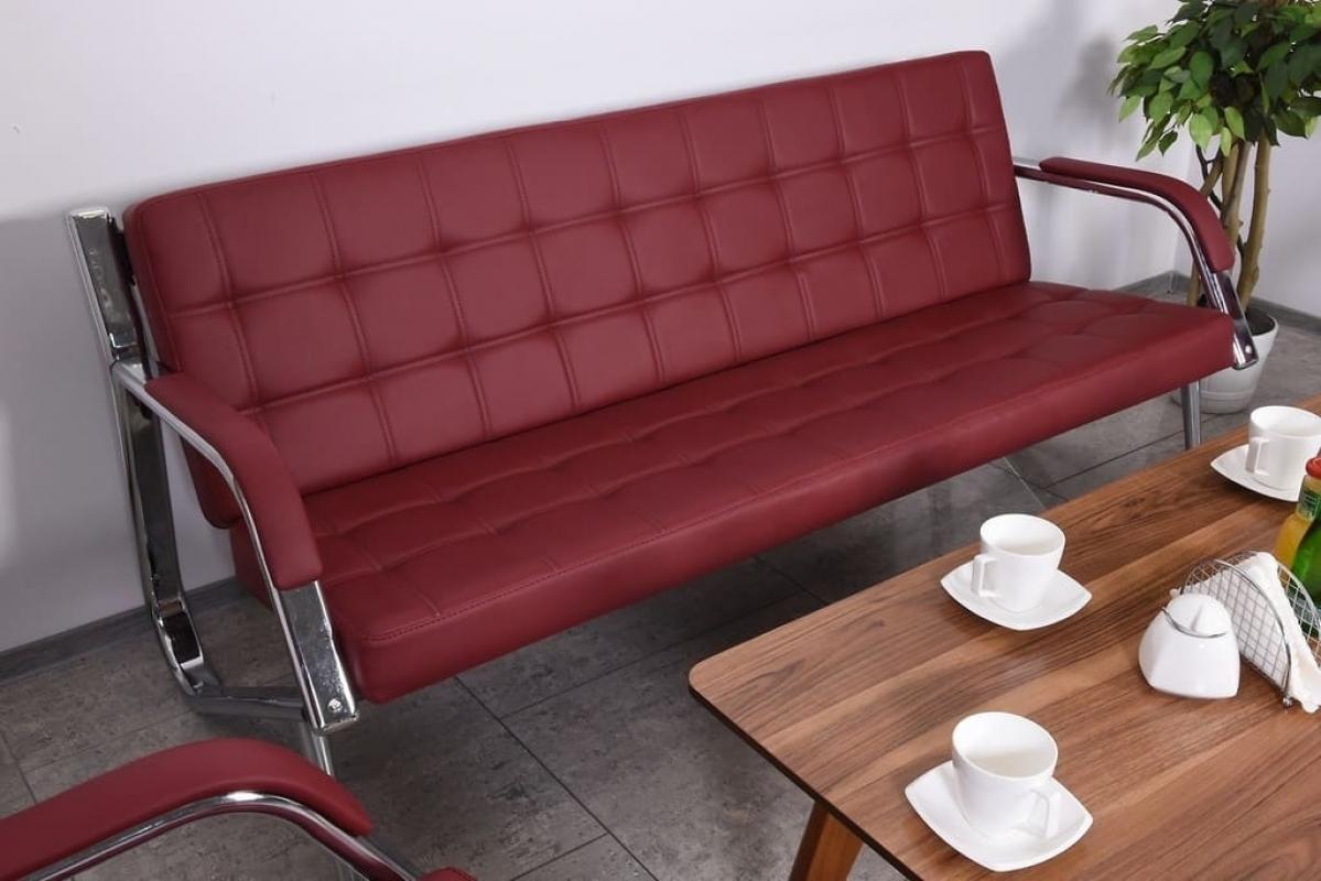 Divano sof a 3 posti design moderno ufficio studio casa for Divano ufficio