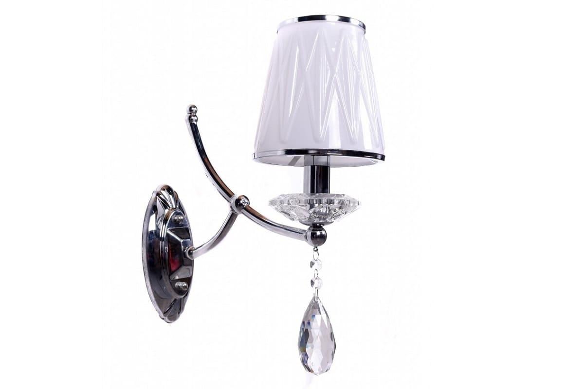 Applique lampada da parete muro cristallo moderno classico interni