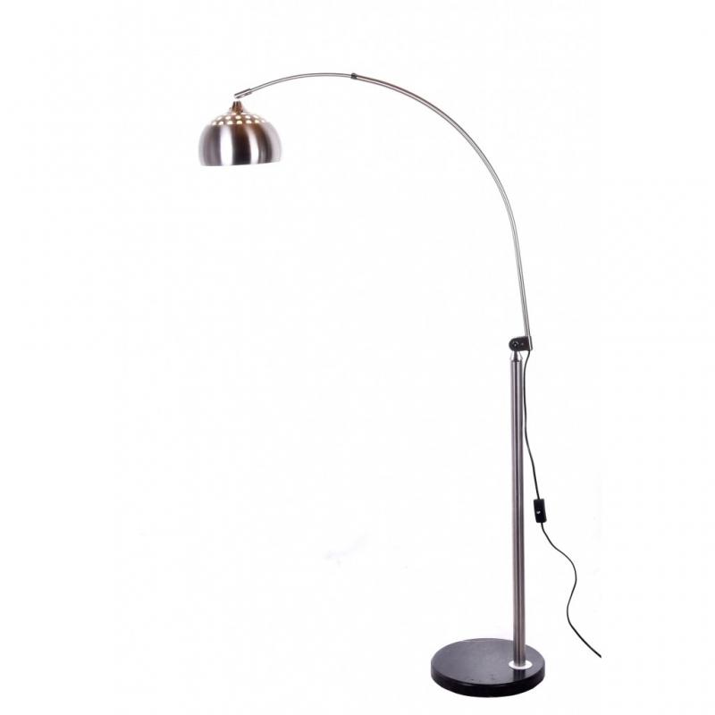 Moderna lampada da terra flos arco in metallo per tuo living e ufficio