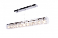 Lampadario moderno in cristallo Briza D90