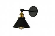 Applique lampada da parete GUBI W1 Nero