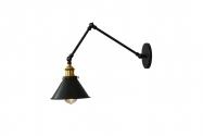 Applique lampada da parete GUBI W2 Nero