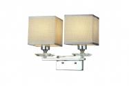 Applique lampada da parete LINIANO W2 Cromato