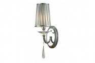 Applique lampada da parete FABIONE W1 Cromato