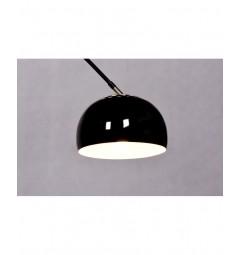 Lampada da terra Azurro Nero B1
