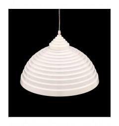 Lampada a sospensione stile industriale vintage loft di alluminio colore bianco lucido LDP 7620