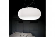 Lampada a sospensione design in vetro 6091-380