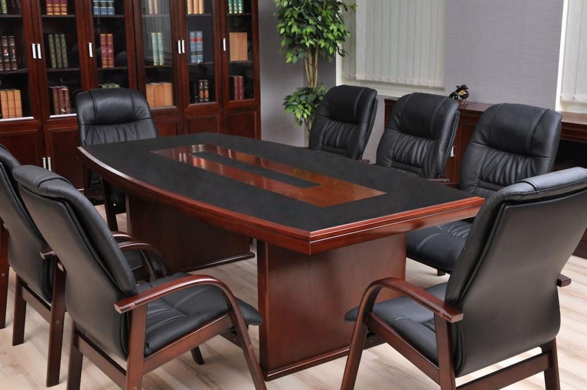 Tavolo conferenza riunione stile classico da ufficio for Mobili per studio professionale