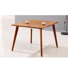 Tavolo moderno quadrato da conferenza Evolutio F02B da 80 cm