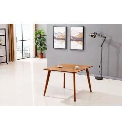 Tavolo moderno quadrato da conferenza Evolutio F02B da 100 cm