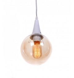 Lampada a sospensione stile industriale vintage ROCHERRO Bianco