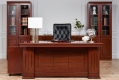 Scrivania direzionale in stile classico per ufficio o studio PRESTIGE B610 da 1,8 Metri