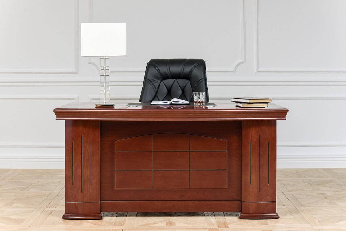 Scrivania presidenziale stile classico per ufficio o for Mobili ufficio scrivania