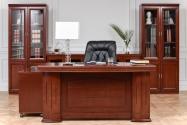 Scrivania presidenziale in stile classico per ufficio PRESTIGE B610 1,6 Metri