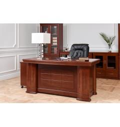 scrivania studio in legno di noce