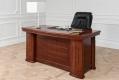 Scrivania presidenziale in stile classico per ufficio o studio PRESTIGE B610 da 1,6 Metri