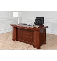 scrivania classica legno massello per ufficio presidenziale