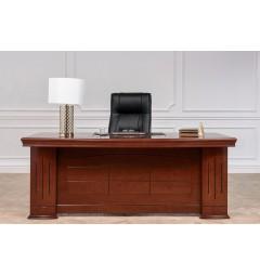 Scrivania direzionale in stile classico per ufficio o studio PRESTIGE B610 da 2 Metri
